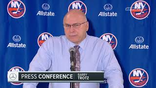 Barry Trotz: It Was a Fantastic Atmosphere   New York Islanders   MSG Networks