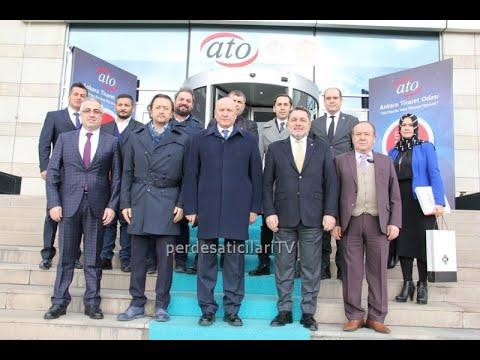 Ankara Ticaret Odası ve İstanbul Ticaret Odası Perdecileri Bir Arada. KDV Görüşmeleri