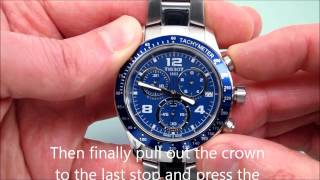 How to Reset a Typical Swiss Movement Watch