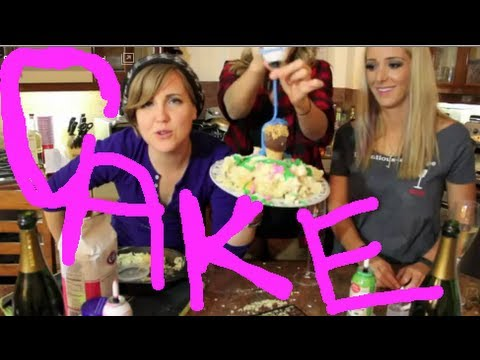 Thumbnail: My Drunk Kitchen: BIRTHDAY CAKE