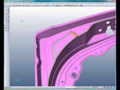 Bend relief for automotive stampings
