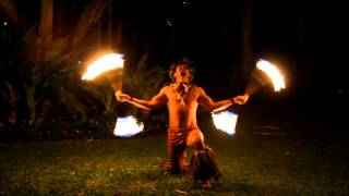 Samoan Fire Knife Dancers -  Aloha Islanders Hawaiian Entertainment