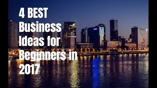 4 Best Business Ideas for Beginners in 2017