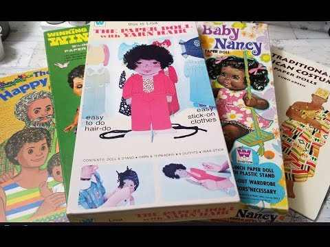 African-American Vintage Paper Doll Review