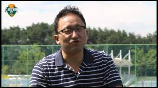 강원FC 영상매거진 2012년 2호 데니스 인터뷰