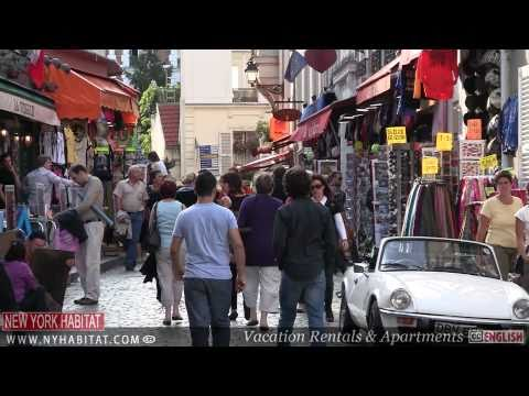 Paris, France - Video Tour of Montmartre (Part 1)
