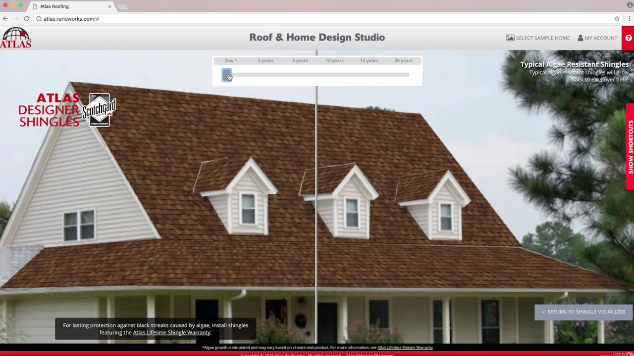 The Atlas Roof And Home Design Studio