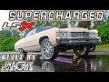 BEFORE & AFTER : SUPERCHARGED LSX 71 IMPALA - In & Out Customs FRAME OFF BUILD