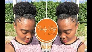 Curly Puff on a Twa