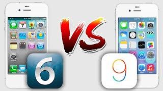 ЗАМЕДЛЕНИЕ iPhone: iOS 6 vs iOS 9 на iPhone 4s в 2019!