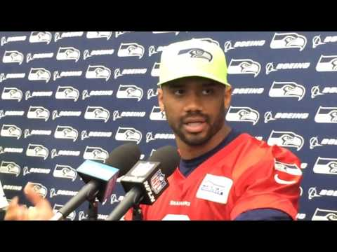Russell Wilson on Christine Michael's change, more on Seahawks