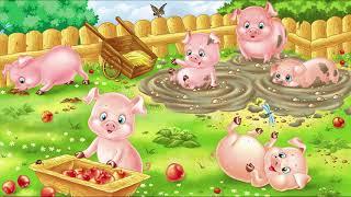 Развивающее видео для детей. Учим домашних животных. Обучающий развивающий мультик.