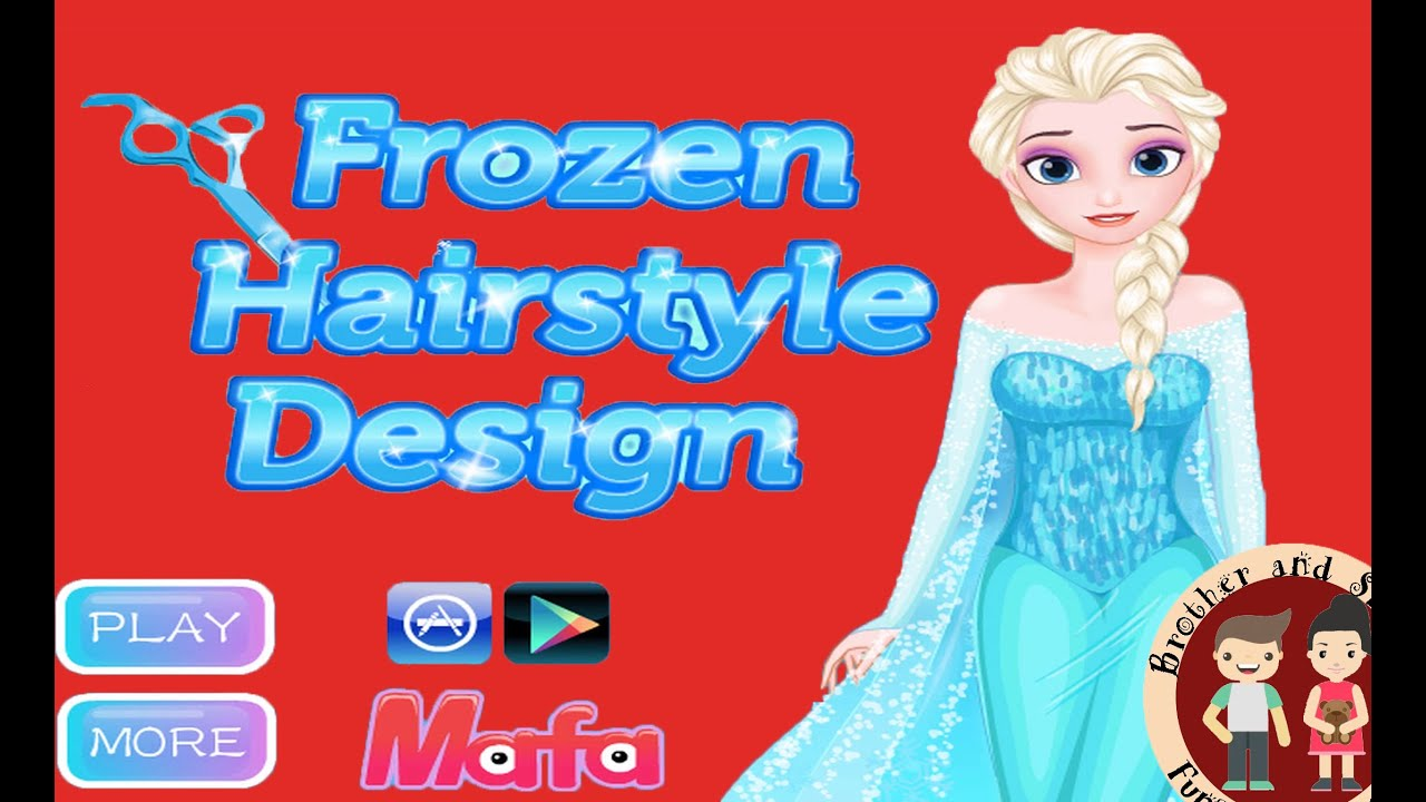 frozen hairstyle design free games