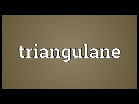 Triangulane Meaning