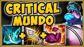 STOP PLAYING MUNDO WRONG! CRITICAL MUNDO MAKES MUNDO E 100% BUSTED! MUNDO SEASON 9 League of Legends
