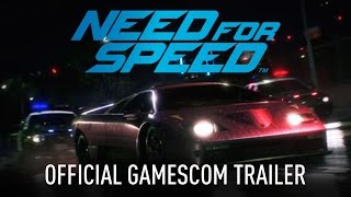 Need for Speed Official Gamescom Trailer PC, PS4, Xbox One thumbnail