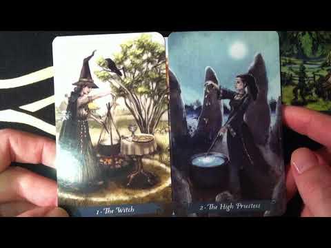 Таро Зеленой Ведьмы Мое знакомство с колодой The Green Witch Tarot