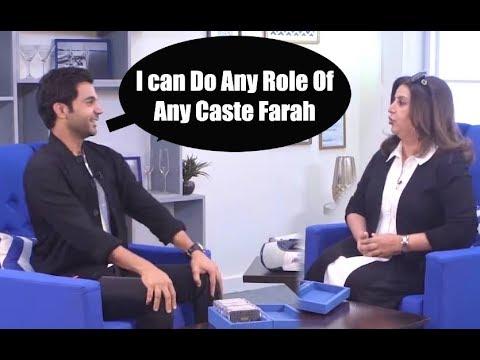 Rajkumar Rao BEST REPLY To Farah Khan INSULT