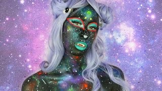 Kawaii Space Kitten | Halloween Makeup Tutorial