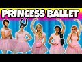 DISNEY PRINCESS BALLET DANCE. (Winter School Formal Ball with Jasmine, Aurora, Belle, Anna and Elsa)