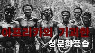 아프리카 원시부족의 기괴한 성문화풍습