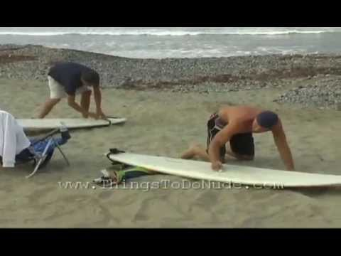 Nude, Tandem, Naked Surfing