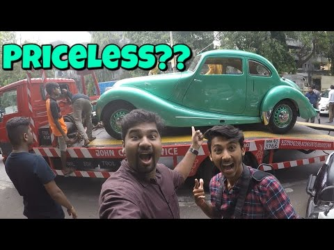 Vintage Car Show in Mumbai 2017 | Bristol 400 | Mumbai India