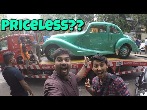 Vintage Car Show in Mumbai 2017 | Bristol 400 | Mumbai India