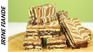 Домашние шоколадные пирожные без выпечки. Очень быстро, просто и вкусно!!
