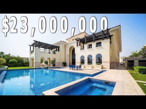 $23,000,000 | Beach Front Mansion | Downtown Dubai