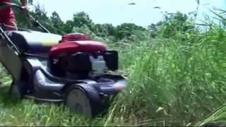 видео Самоходные газонокосилки Хонда (Honda)