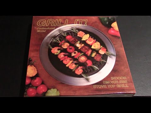 Unboxing the Grill It/It\'s Delicious Indoor Smokeless Stove Top ...