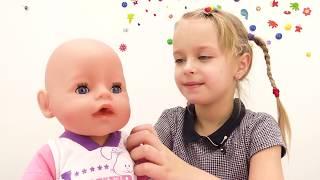 Купаем Беби бон Эмили - Как мама - Мультики для девочек