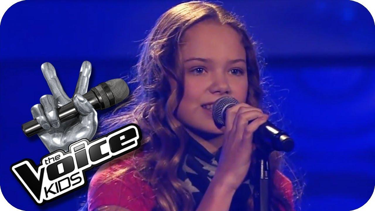 Cassandra Steen Stadt Lara The Voice Kids 2013 Blind