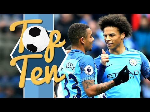 TOP 10 PREMIER LEAGUE GOALS OF THE SEASON SO FAR | Man City 2016/17