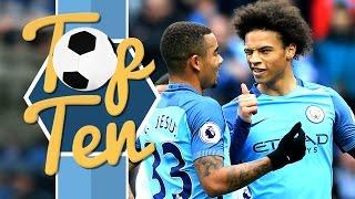 TOP 10 GOALS OF THE SEASON SO FAR | Man City 2016/17