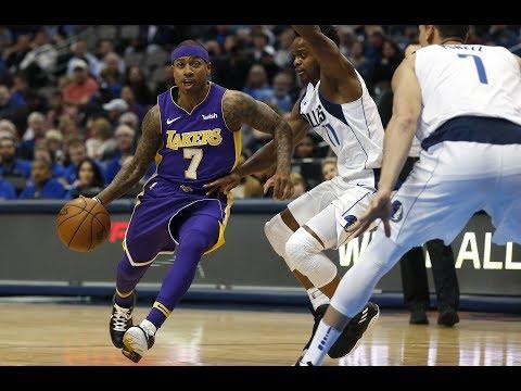 Isaiah Thomas Makes His Los Angeles Lakers Debut!