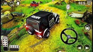Offroad Police Jeep 4x4 Driving & Racing Simulator - Police Car Driving Game - Android GamePlay