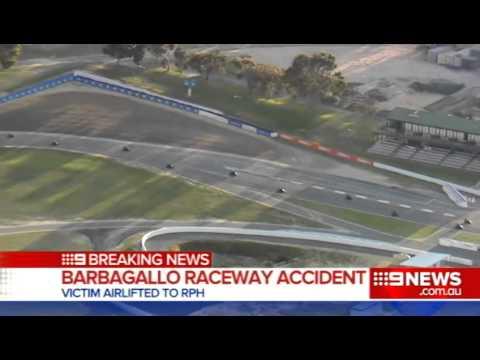 Raceway Accident   9 News Perth