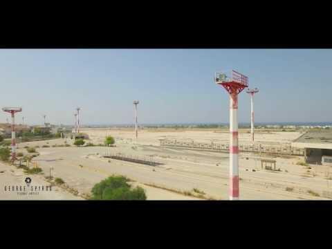 Ellinikon Abandoned Airport Aerial Drone Showreel in Glyfada, Greece