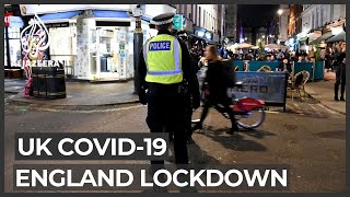 UK parliament approves month-long COVID-19 lockdown for England