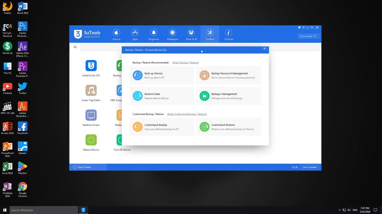 User Video: How to Back up & Restore using 3uTools?