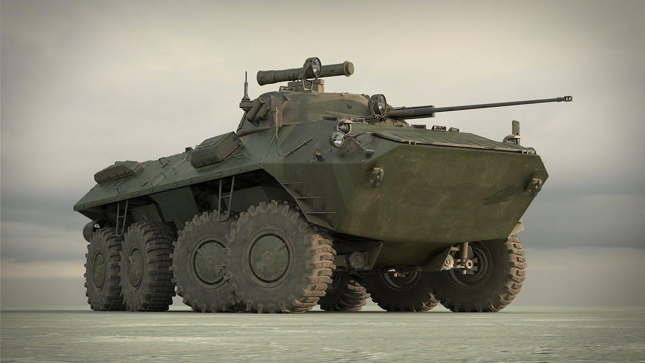 Российский бронетранспортёр - БТР-90 «Росток» - YouTube