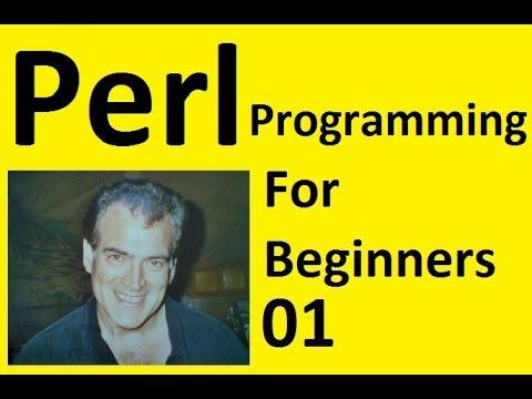 Perl Programming for Beginners Tutorial Install on Windows 10