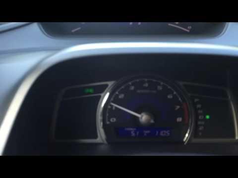 Расход топлива на Honda Civic 4D VIII