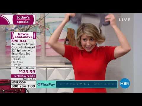HSN | Samantha Brown Travel 01.26.2020 - 12 AM