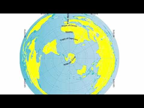 Flat Earth or Globe Earth? Antarctica
