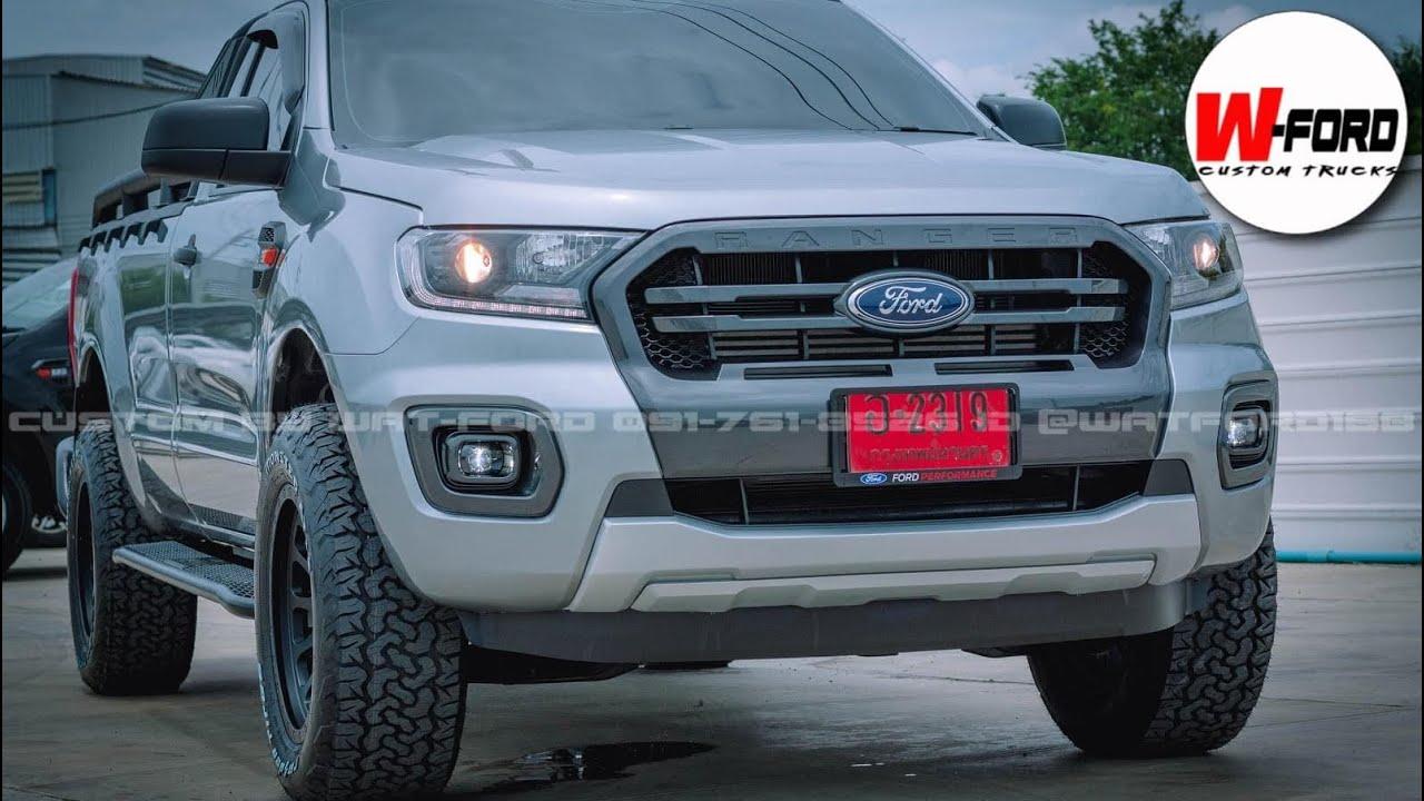 EP118-Ford Ranger หัวเดียว 2.2 ขับเคลื่อน4ล้อ 4x4 แปลงหน้า+แปลงไฟ wildtrak custom by watford