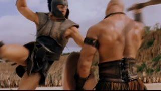 ► Troie (scène de la bataille éclair - Achille VS Boagrius)