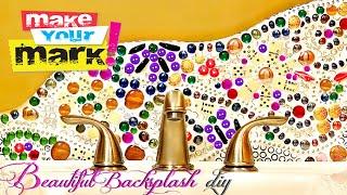 How To: Beautiful Backsplash Diy